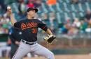 Orioles lose to Athletics, 5-4, despite Jimenez's 11 strikeouts