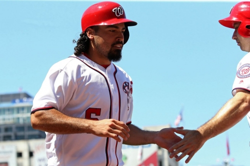 Washington Nationals' lineup for first of three with San Francisco Giants in D.C.