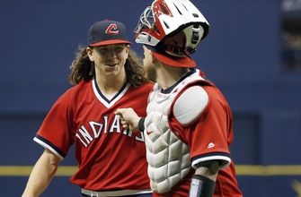 Clevinger carries Indians to second-straight shutout of Rays, 3-0
