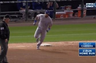 WATCH: Hosmer, Cabrera homer in Royals' victory over White Sox
