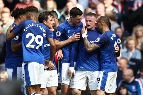 Everton 1 Stoke City 0: Rooney wins it for Everton