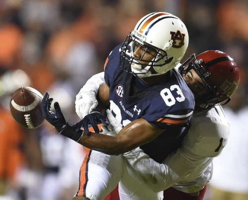 Ryan Davis emerges as leader of Auburn's wide receivers