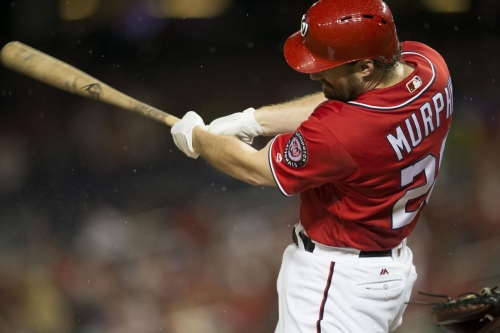 Washington Nationals' lineup for 2nd of 3 with San Francisco Giants in D.C.
