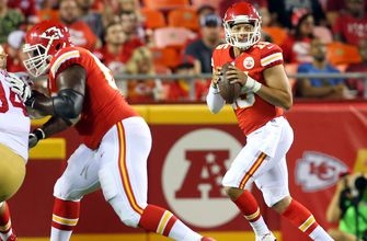 Chiefs letting the ball fly early in first preseason game