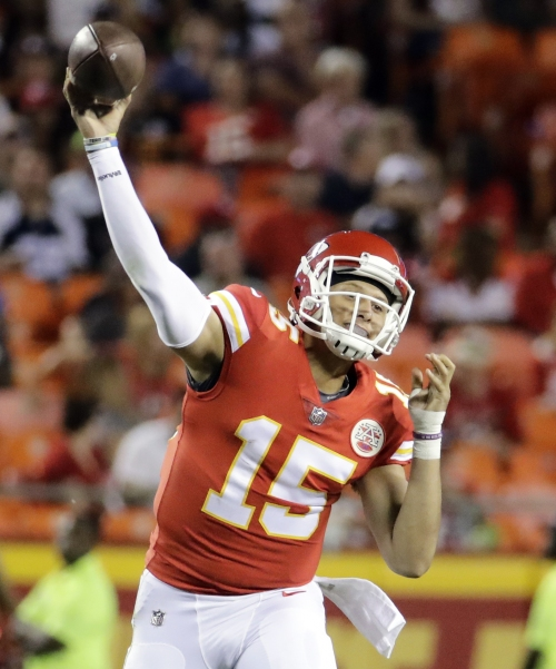 Chiefs showcase deep ball in apparent change of mindset The Associated Press