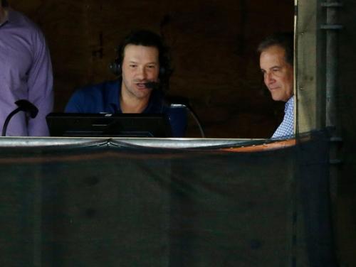 Tony Romo to make CBS broadcast debut calling Chiefs-Seahawks preseason game