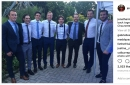 It was a Blackhawks reunion at Andrew Shaw's wedding