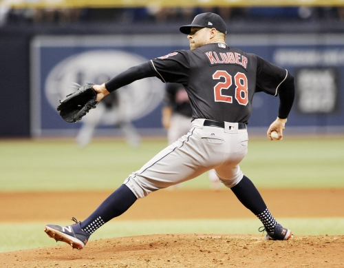 Cleveland Indians edge Rays, 4-3, on Austin's Jackson homer, Corey Kluber's pitching