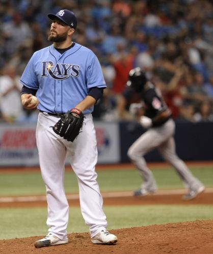 Rays lose to Indians to cap 2-7 homestand, fall below .500 (w/video)