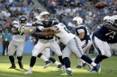 Seahawks win 48-17 in Chargers' debut game at StubHub Center