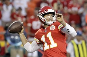 Chiefs showcase deep ball in apparent change of mindset