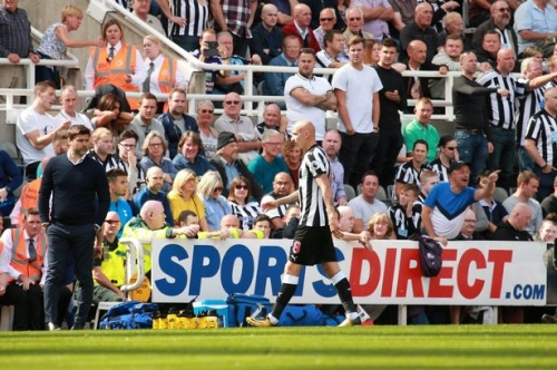 Newcastle United set up support network around Jonjo Shelvey after red card against Spurs