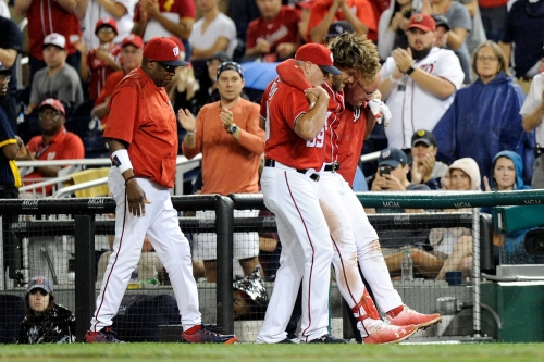 On the Bryce Harper injury: Why was that game even being played?