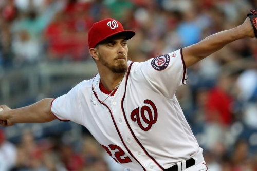 A.J. Cole trying to help, make most of opportunity in Washington Nationals' rotation...
