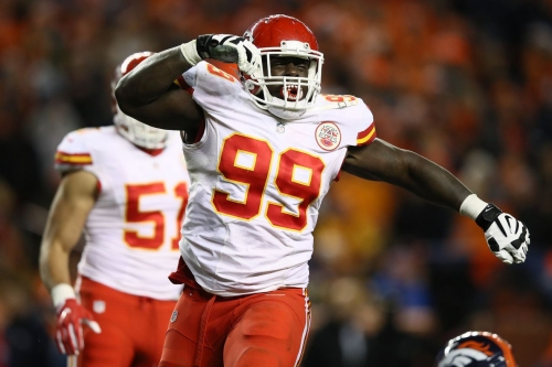 Rakeen Nunez-Roches added a bunch of weight, looked stronger for the Chiefs