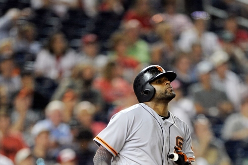 Pablo Sandoval is happy to be back, but I'm not sure how to feel yet