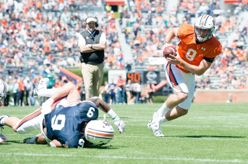"""Have to be thinking you're the guy"": Stidham says he's ready for spotlight"