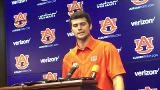 Auburn QB Jarrett Stidham after being named starter for 2017 season