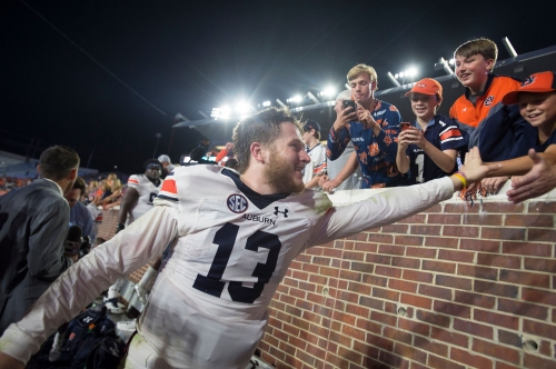 "Malzahn says Auburn QB Sean White ""is our No. 2"