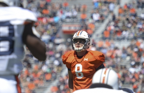 What does Jarrett Stidham need to work on before his first start at Auburn?