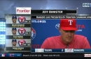 Jeff Banister got another quality start from Perez, Rangers beat Tigers