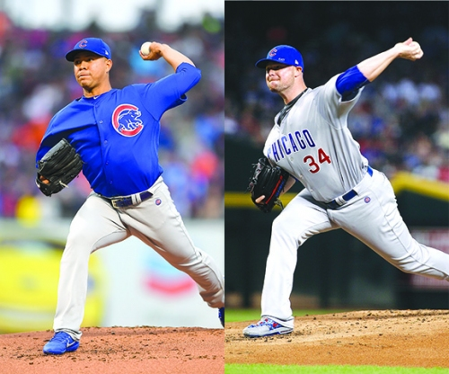 Who's more effective, Jose Quintana or Jon Lester? Depends who you ask