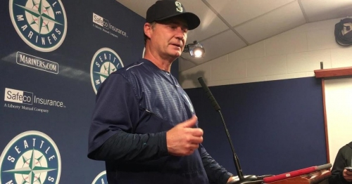 Scott Servais analyzes the Mariners' fifth straight loss; Thyago Vieira discusses his MLB debut