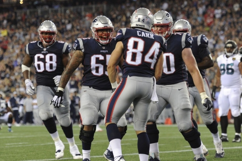 Film Review: Patriots rookie WR Austin Carr makes case for audition with the starters