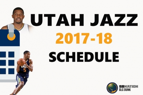 2017-2018 Utah Jazz Schedule: Week by Week Breakdown