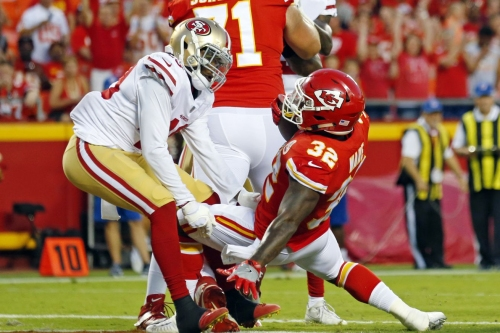49ers-Chiefs snap count: Rookies and offensive linemen led the way