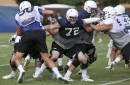 Facing off: BYU football's Pulsipher brothers always ready to be physical