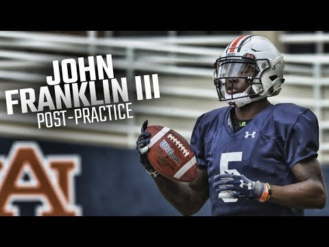 'Last Chance U' star John Franklin III to transfer from Auburn
