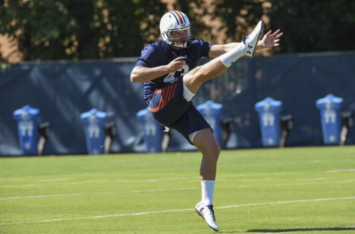 Ian Shannon wins Auburn's punter competition