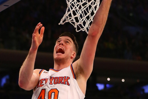 Marshall Plumlee plays pickup game with lesser NBA stars (Carmelo Anthony, LeBron James, etc.)