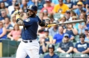 Notes: Brewers try Jonathan Villar in center field