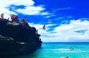 Villa Park football team visits Sharks Cove, cliff jumps on trip to Hawaii