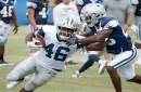A 'faster, more explosive' Alfred Morris has shown up at Cowboys training camp -- just in time, perhaps