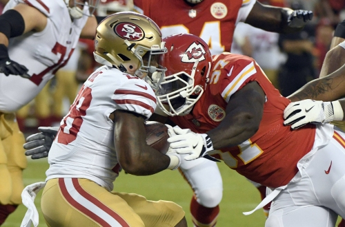 Chiefs relying on healthy vets, new bodies to stop the run
