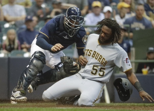 Pirates drop third straight on the road, look to split Brewers series Wednesday