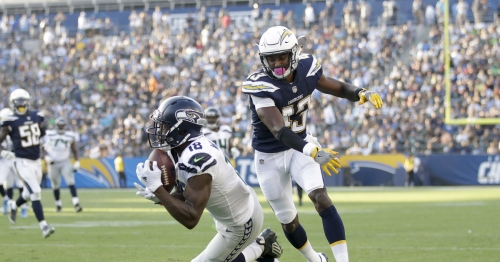 New diet, improved health have Seahawks receiver Kasen Williams flying higher than ever