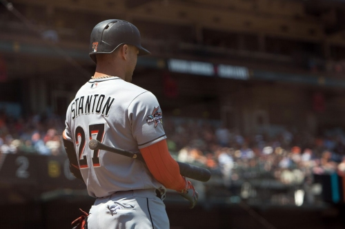 There are still people who think the Giants can trade for Giancarlo Stanton