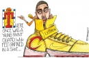 Cleveland Cavaliers, Kyrie Irving and shoe that doesn't fit: Crowquill