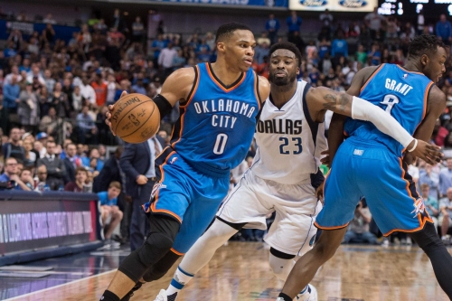 Oklahoma City Thunder AM: Risers and Fallers