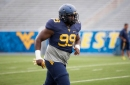 Xavier Pegues is the most senior D lineman on the team