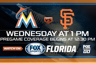 Preview: Marlins close out road trip with matinee showdown vs. Giants