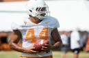 Tennessee Vol Jakob Johnson hands-on about playing tight end