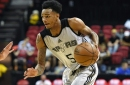 Did Dejounte Murray's Summer League hurt his case to start at point guard?