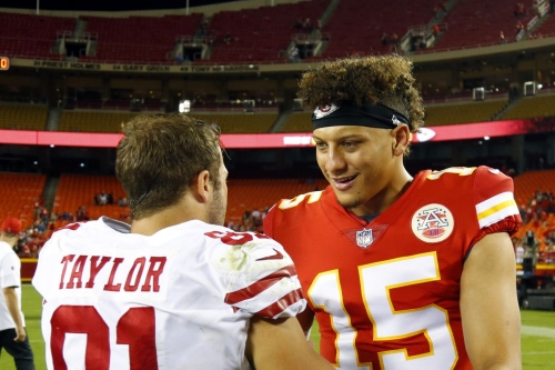 Chiefs 2nd preseason game: Alex Smith gets the 1st half, Patrick Mahomes gets the 3rd quarter
