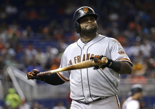 Giants notes: Pablo Sandoval is Bochy's iron man on this compressed road trip, etc.