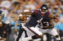 Texans rookie quarterback Deshaun Watson chats up Tom Brady